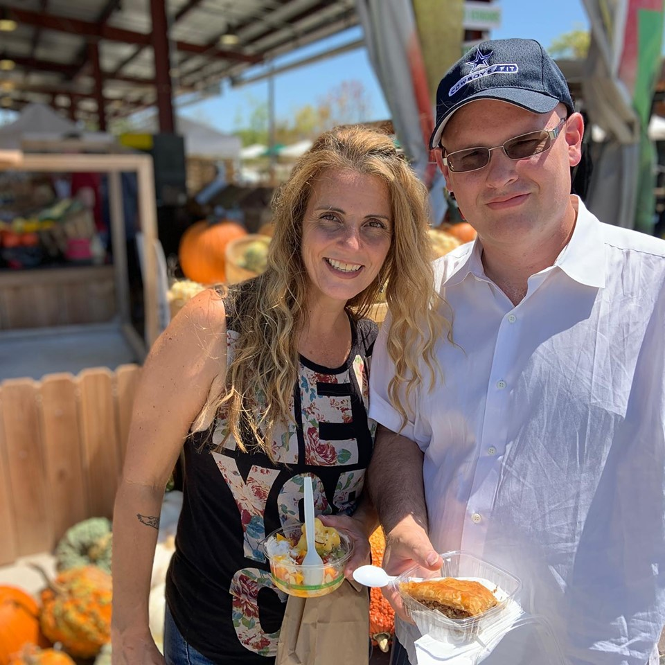 Farmers market in the fall!